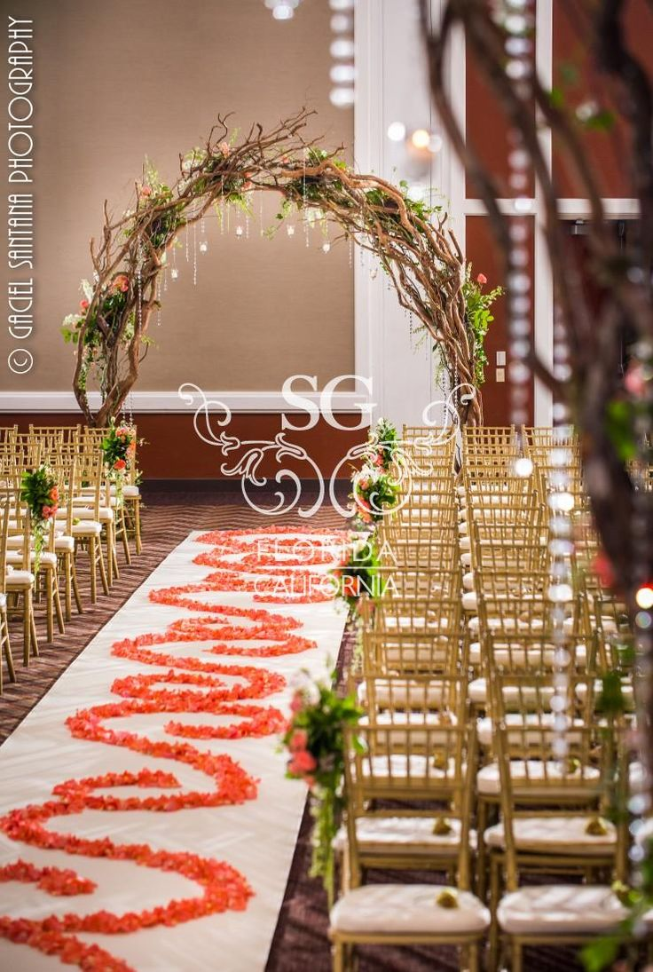 Wedding reception entrance decor - Suhaag Garden Indian Weddings Indian Wedding Decorators Floral Mandap Branch Arches Rustic Tableflower Petalsentrance Decorhanging