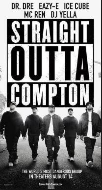 """La película """"Straight Outta Compton"""" (""""Letras Explícitas"""" en Latinoamérica), uno de los grandes éxitos del verano de 2015, no pudo ser mostrada en Compton porque no había cines para exhibirla."""