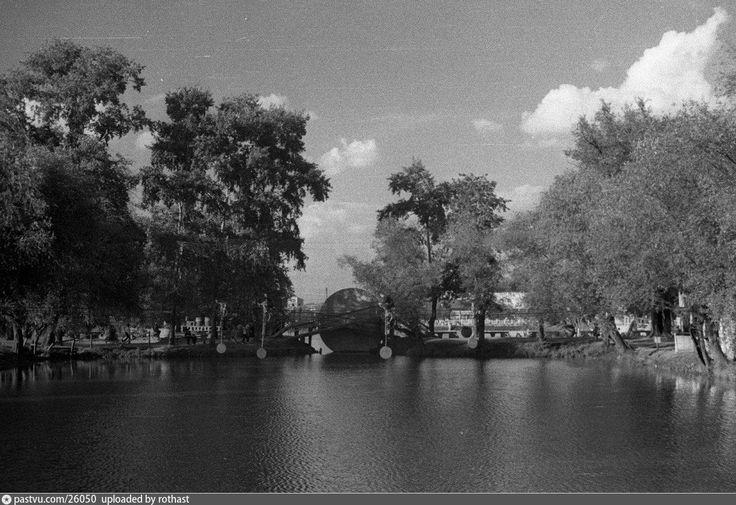 Малый Голицынский пруд  1939