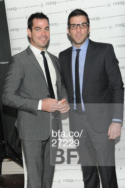 Joe Quinto, Zachary Quinto at naag.com Launch Party. #BFAnyc