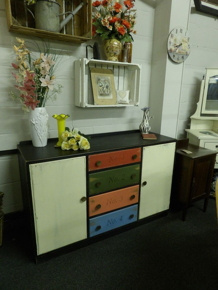 Now Sold painted sideboard £165