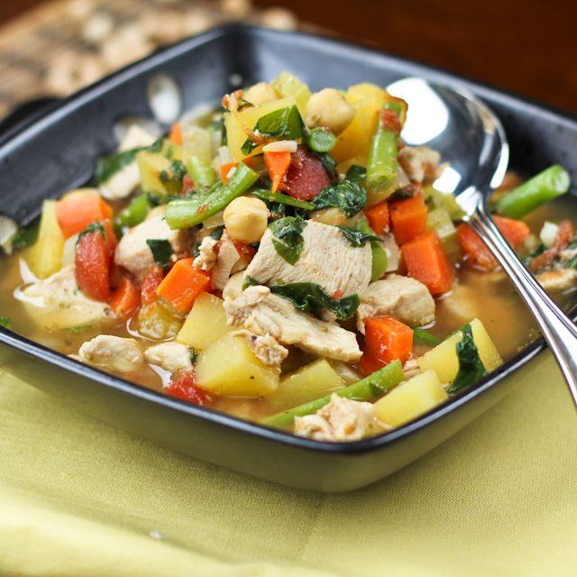 Bone Warming Chicken Vegetable Soup