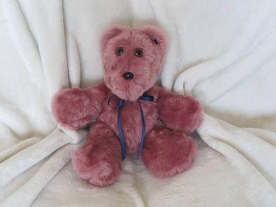 Teddy Bear Stuffed Animal Bear Girl Baby Gift Girl Baby Shower
