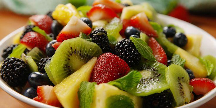 Mimosa Fruit Salad. Your next brunch needs this fruit salad.