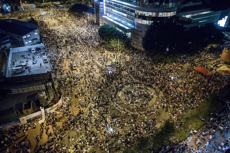 Thousands rally in Hong Kong as police arrest pro-democracy protesters   Al Jazeera America