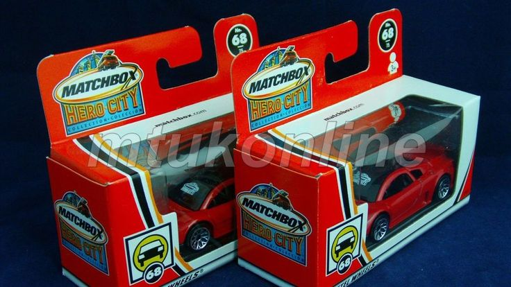 MATCHBOX 2002 VOLKSWAGEN W12 | CHINA | HERO CITY 68 | 97866 | LOGO ON FRONT x 2