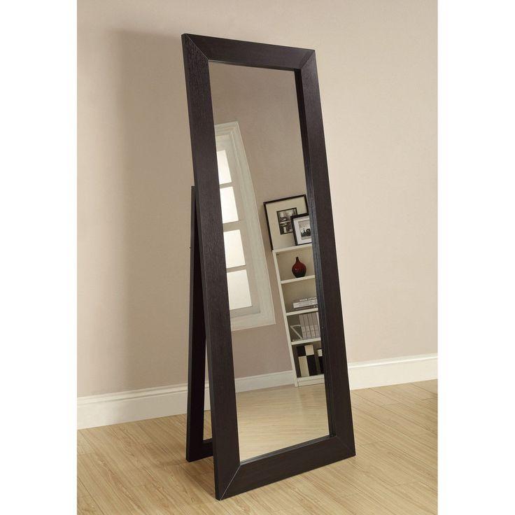 Coaster Furniture Beveled Floor Mirror - 28W x 72H in. | from hayneedle.com
