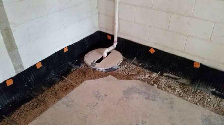 interior drain tile system affordable egress windows basement