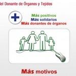 6th Junio: Día Nacional del Donante de Órganos y tejidos (Spain National Organs and tissues donor Day). Go to http://healthaware.org/category/2012/18-june-2012/ for link to more information.*