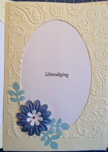 Hanna's creaties: Uitnodigingskaarten voor mijn schoonmoeder's 85ste...