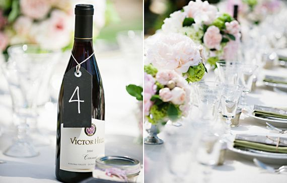 Easy table numbers!