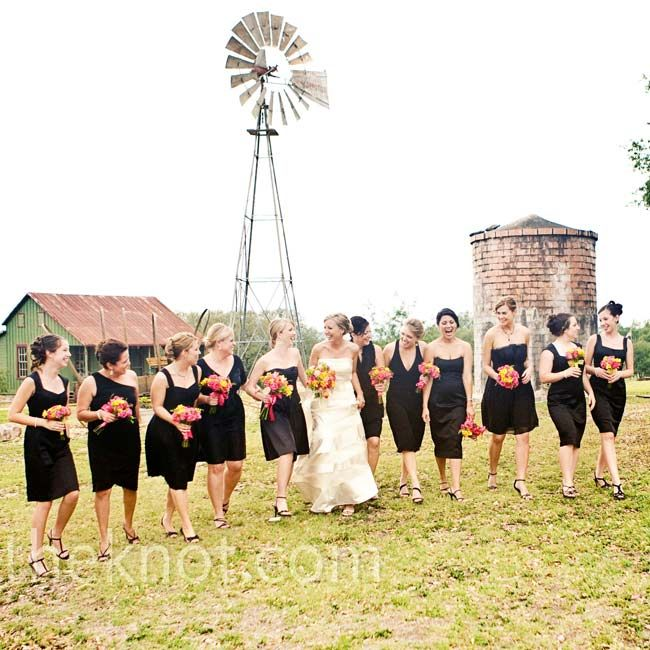 8 best Black bridesmaids dresses images on Pinterest | Black ...