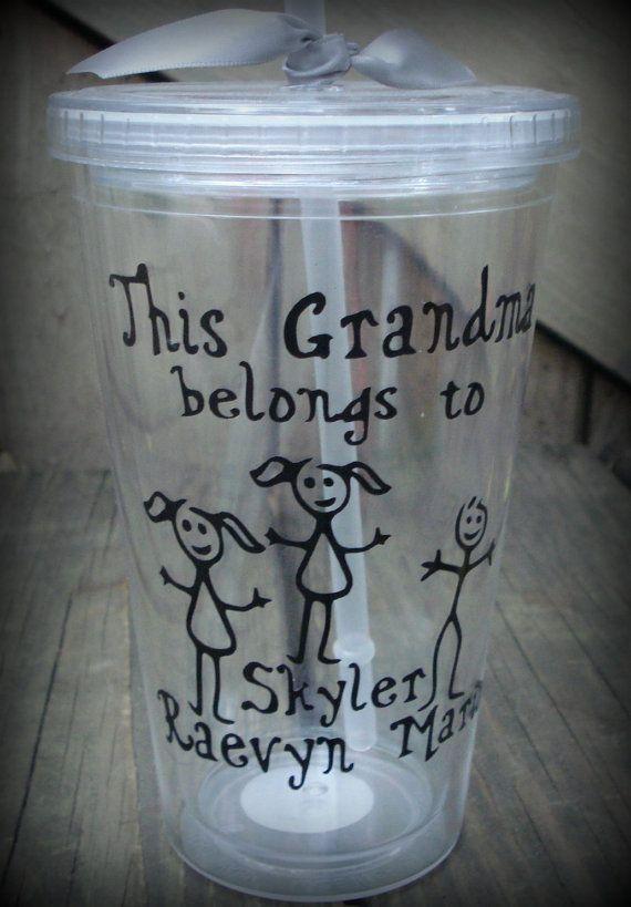 Personalized Grandma Cup Personalized Grandpa Cup Nana