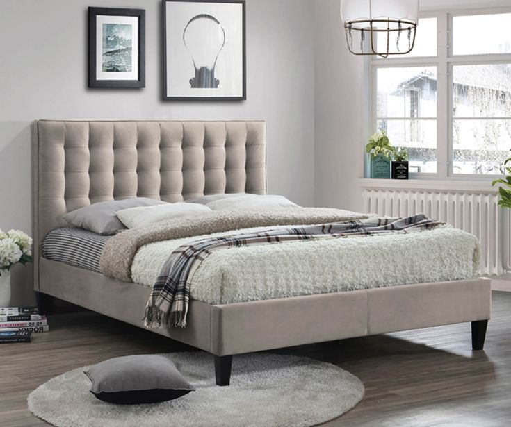 Beds Direct UK - Berlin #Fabric #Bed is a very strong, attractive looking bed frame that will be a stunning addition to your #bedroom. #furniture #fashion #luxury