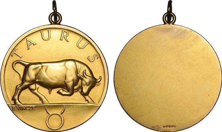 zodiac golden medallions - Google Search