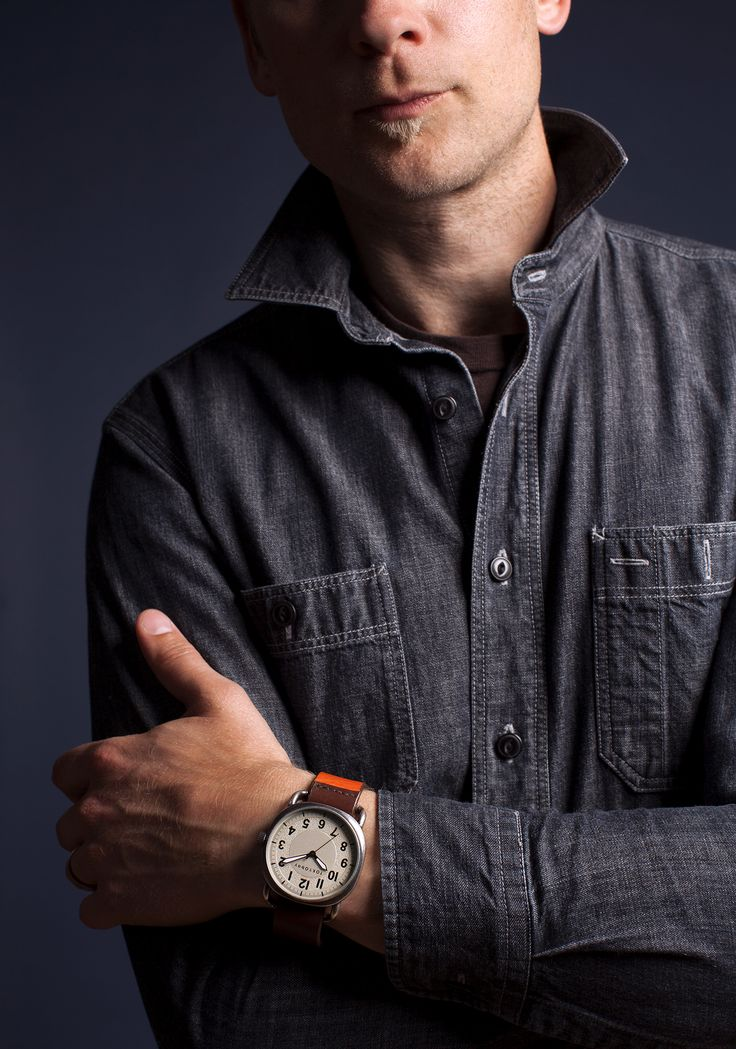 Ink | TOKYObay Mens Watch in Orange.