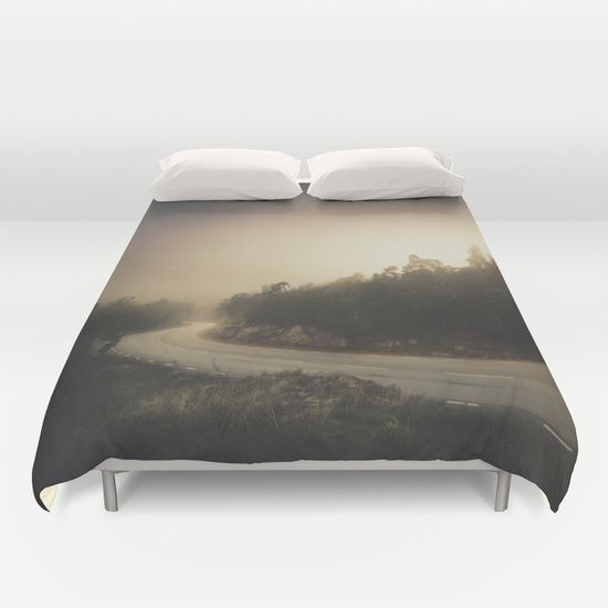 Buy ultra soft microfiber Duvet Covers featuring The roads we travel by HappyMelvin. Hand sewn and meticulously crafted, these lightweight Duvet Cover vividly feature your favorite designs with a soft white reverse side.