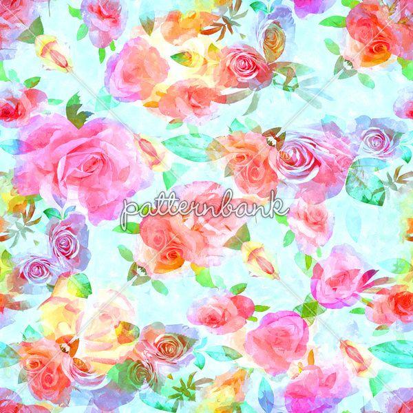 Rose Garden -Painted Blooms by Simonetta De Simone