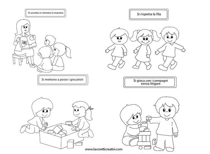 Exceptionnel Oltre 25 fantastiche idee su Routine di scuola materna su  VV18