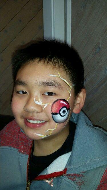 Pokemon face paint
