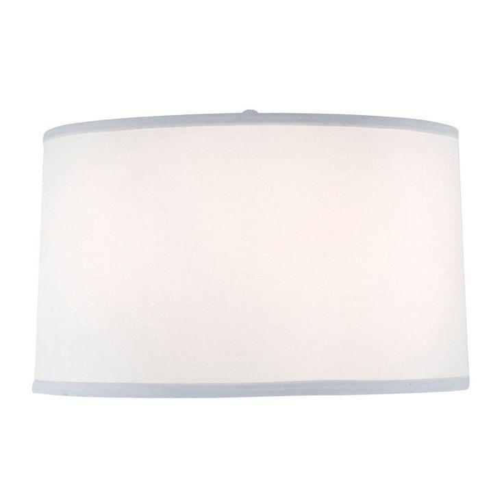 Gentil Design Classics Large Drum Lamp Shade DCL SH7212 PCW