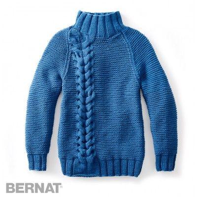 Free Intermediate Women's Pullover Knit Pattern