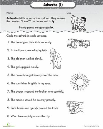 adverb of place worksheet pdf
