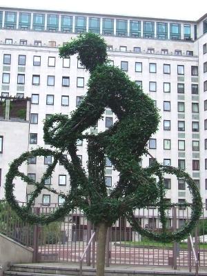 Great horticultural sculpture ... Tour de France