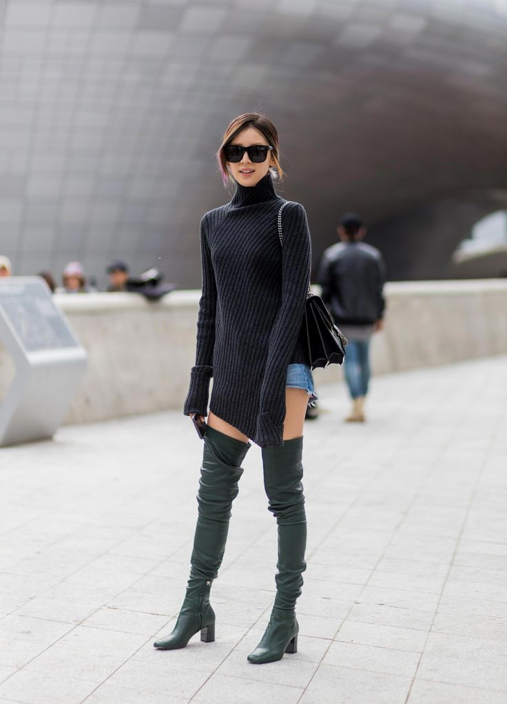 Irene Kim street style at day 5 of HERA Seoul Fashion Week