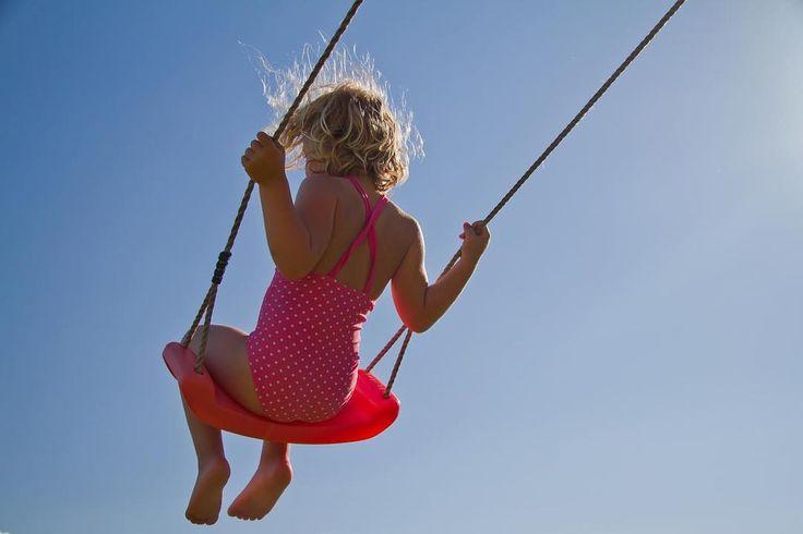 Childhood joy #photography #summer #childhoodjoy #flying #happiness #carefree  #highupinthesky #fjellværøy #hitra #norway
