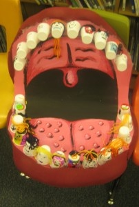 This Is A Hilarious Way To Have Visual Representation About The Buggy Nasty Health FairDental HealthDental HygieneClassroom DisplaysClassroom IdeasThe