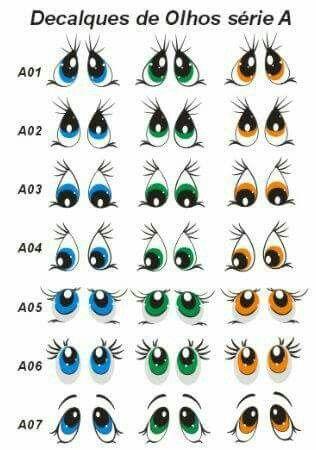 Ojos                                                                                                                                                                                 Mais