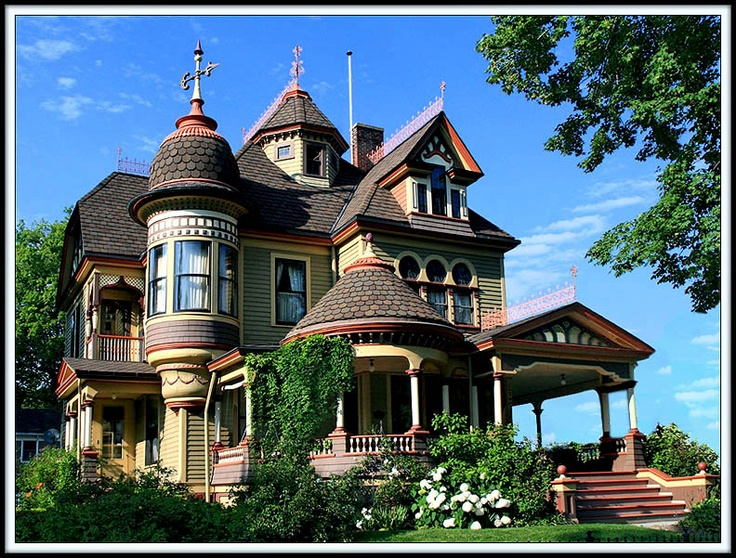 Tunkhannock Storybook Mansion Pennsylvania: Victorian Homes, Storybook Mansion, Dream Homes, Dream House, Beautiful, Tunkhannock Storybook, Victorianhouses, Victorian Houses, Painted Ladies
