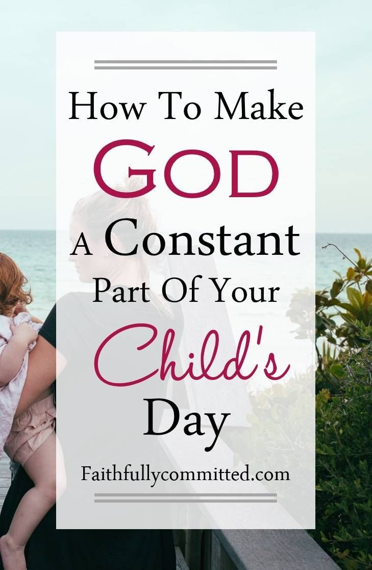 Check out 8 simple ways to share God's love with your little ones all day long!