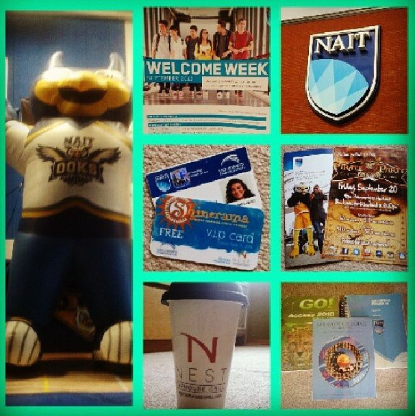 #NAITbacktoschool contest entry by @derczeni_. People's Choice Winner. #NAIT