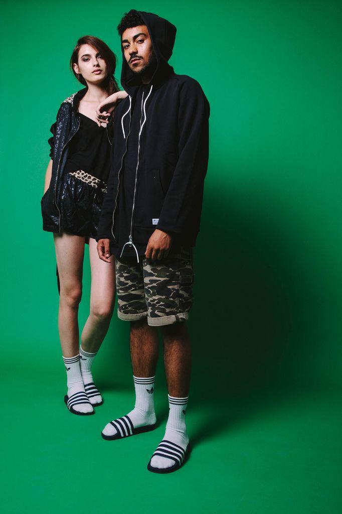 Adidas Slides Street Style