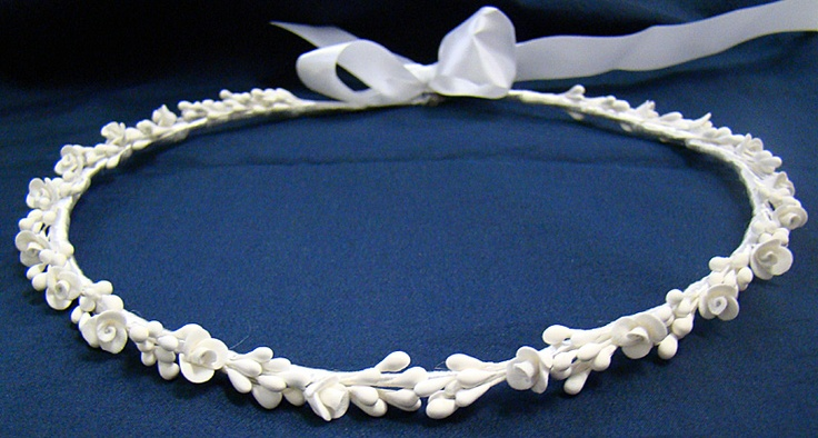 Stefana - Greek wedding crowns - orange blossoms