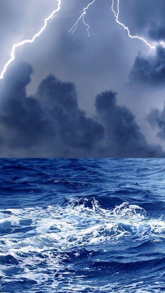 Thunderstorm At Sea