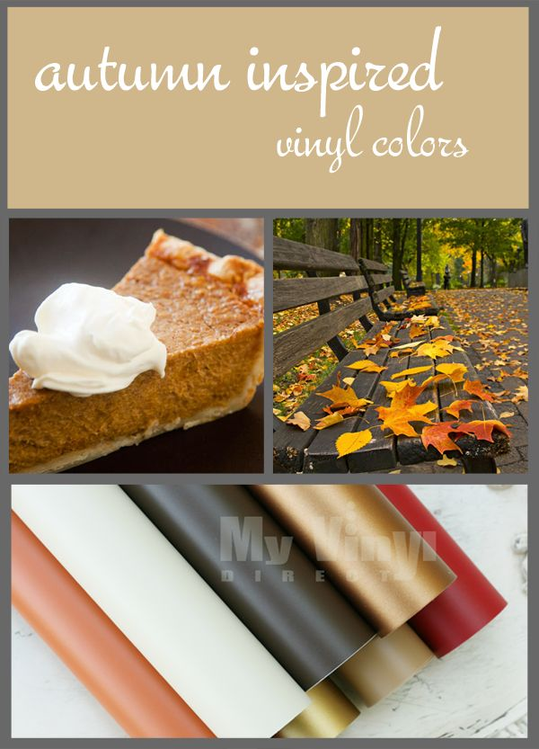 This vinyl pack from My Vinyl Direct is perfect for Fall crafts- platters, plates, wall decals, & more!