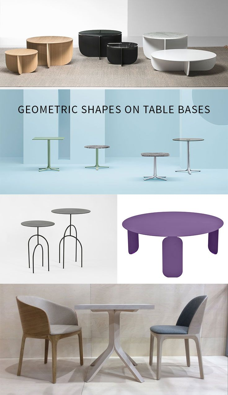 Classic Table Shapes Forget Classic Pedestal Bases Table Bases Just Got Interesting