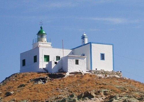 Agios Nikolaos Lighthouse, Kea Island, Greece,Hellas, Summer / photo by Dimitris Tsapelas