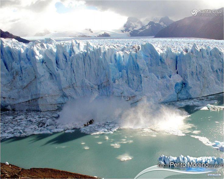 Cascada en Argentina.