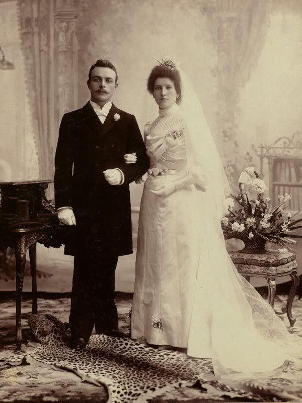 Wedding picture from 1880. I want to have at least one picture like this.