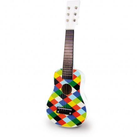 Harlequin Guitar