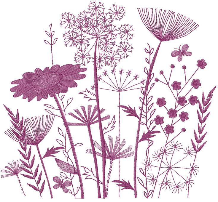 Just flower free embroidery design - Flowers free machine embroidery designs - Machine embroidery forum
