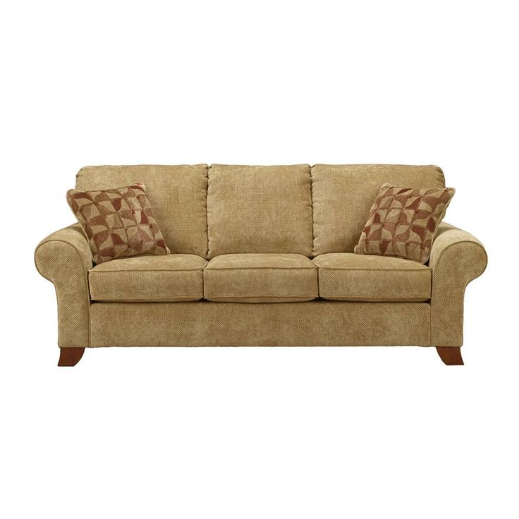 Townhouse Tawny Sofa W Rolled Arms By Ashley Furniture Becks Furniture Sofa Sacramento