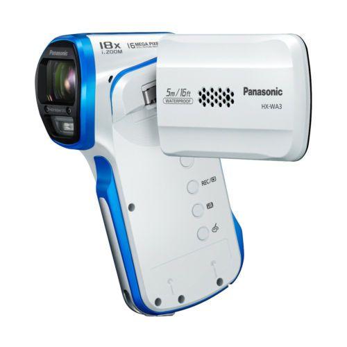 [Panasonic] HX-WA3 White Active Liftstyle Full HD Camcorder Waterproof 5m New