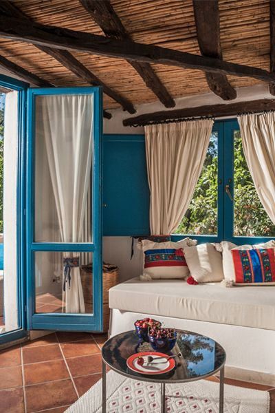 The rooms of Su Gologone are country retreats, tucked in Sardinia, Italy. It's a #Fodors100 Hotel Awards winner in the Local Characters category.