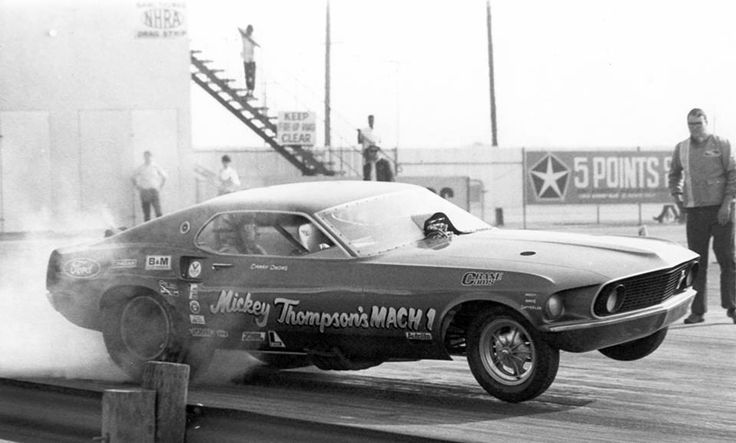 Danny Ongais in Mickey Thompson's Mustang