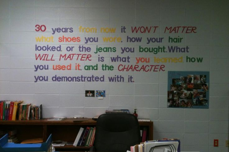 Classroom Decorating Ideas High School Math : Taken from a poster i found through google search